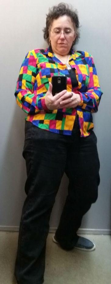 Tetris Shirt Leaning